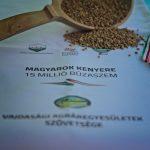 Magyarok Kenyere – búza adomány gyűjtés Zentán
