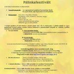 XX. Zentai Mikulásnapi Nemzetközi Pálinkafesztivál verseny felhívása